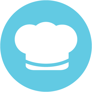 ENNC interest group - Cooking Club - Illustrated chef hat icon