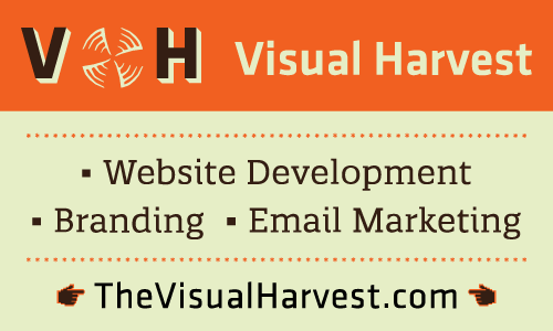 ENNC Advertiser - Visual Harvest banner ad